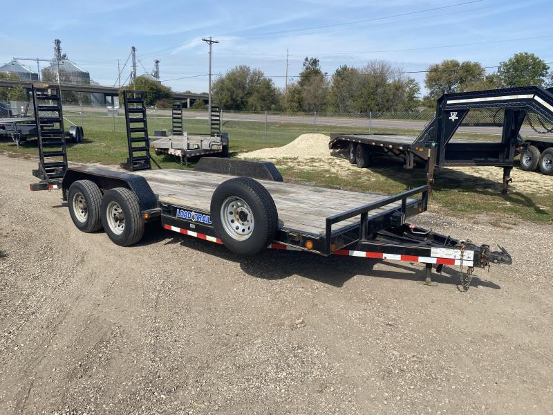 2015 Load Trail 83 X 18 Equipment Trailer