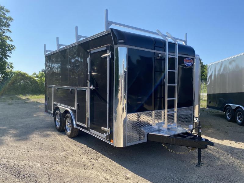2022 United Trailers 8.5X16 Tool Crib Enclosed Cargo Trailer