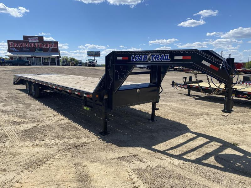 2019 Load Trail 102X30 Gooseneck Deckover Equipment Trailer