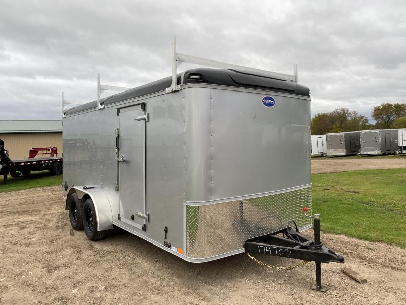 2021 United Trailers 7X16 Enclosed Cargo Trailer