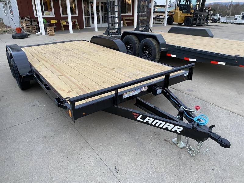 2021 Lamar Trailers 83X16 Car Hauler