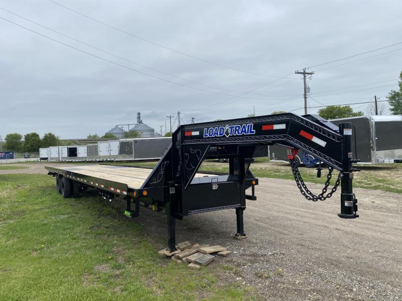 2020 Load Trail 102X40 Gooseneck Tilt Deckover Equipment Trailer
