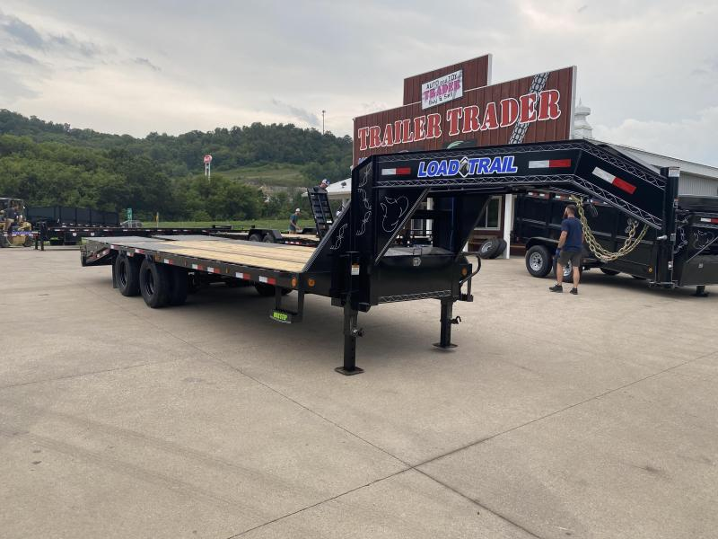2021 Load Trail 102X25 Gooseneck Deckover Equipment Trailer