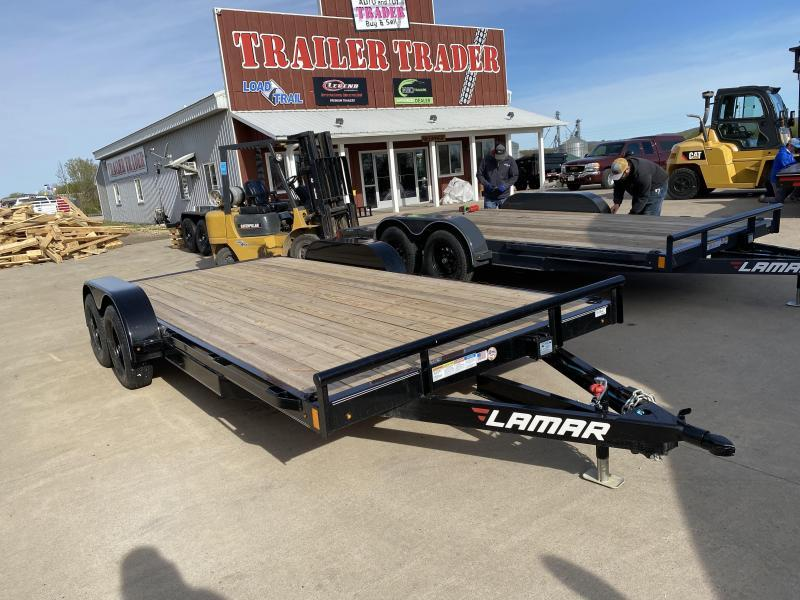 2020 Lamar Trailers 83X18 Car Hauler