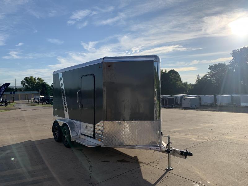 2021 Legend Trailers 7X12 Aluminum DVN Enclosed Cargo Trailer