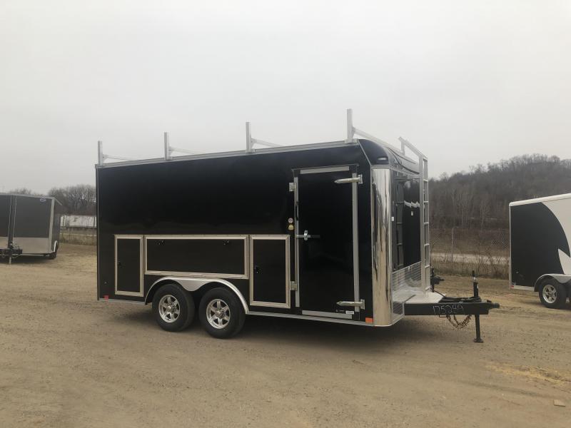 2021 United Trailers 8.5X16 Tool Crib Enclosed Cargo Trailer