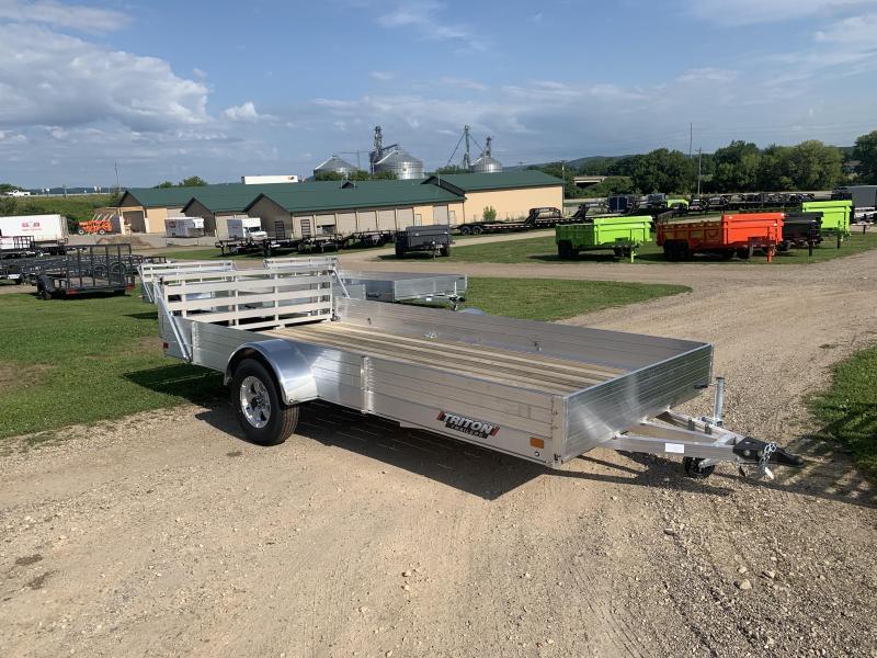 2021 Triton 81X14 Aluminum Utility Trailer