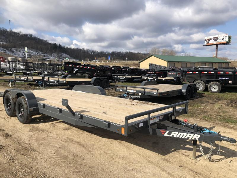 2020 Lamar Trailers 83X20 Car Hauler