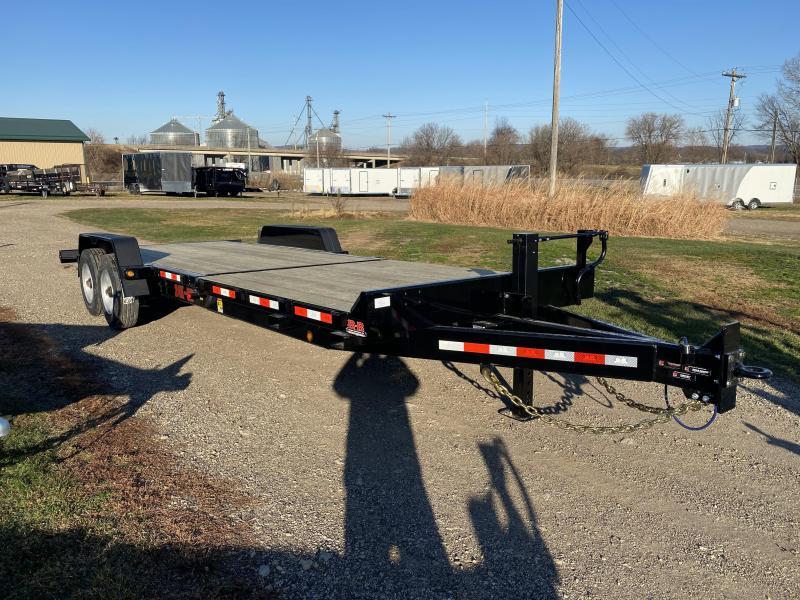 2021 B-B 83X24 Tilt Deck Equipment Trailer