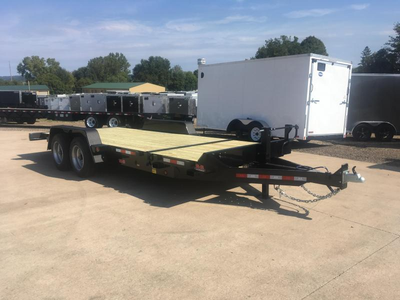 2020 B-B 83X20 Gravity Tilt Deck Equipment Trailer