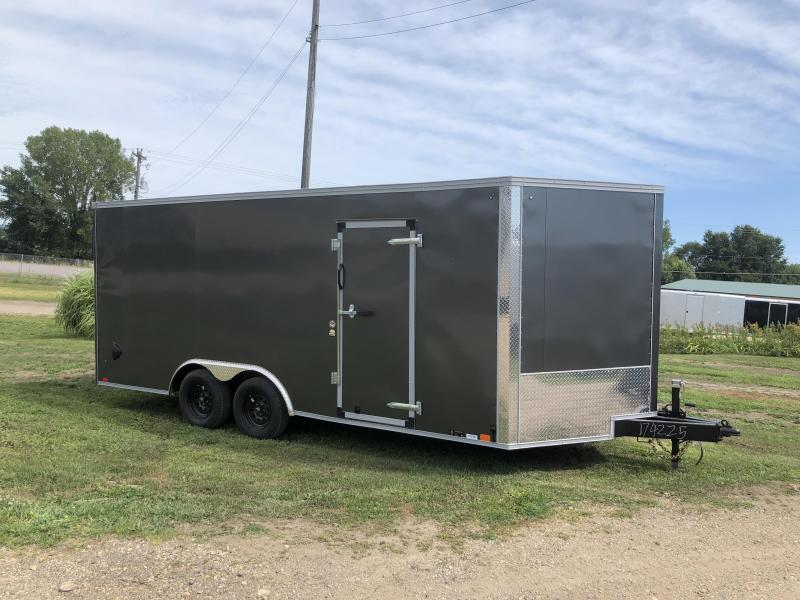 2021 United Trailers 8.5X18 Enclosed Cargo Trailer
