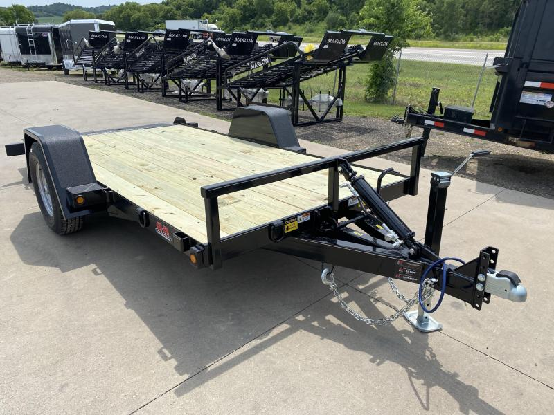 2021 B-B 72X14 Tilt Deck Equipment Trailer