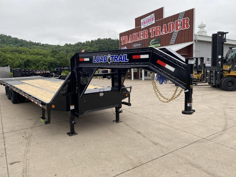 2020 Load Trail 102X32 Gooseneck Hydro Dove Equipment Trailer