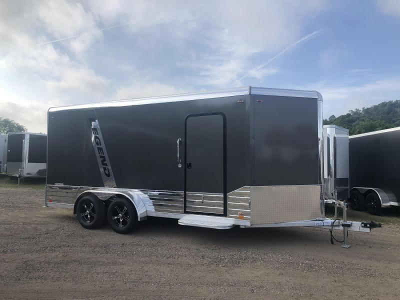 2020 Legend Trailers 7X16 Aluminum DVN Enclosed Cargo Trailer