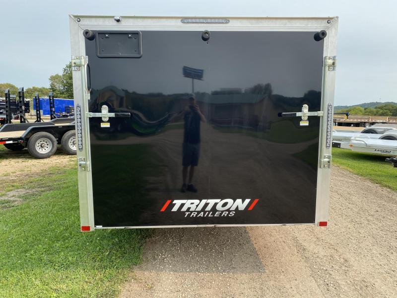 2021 Triton 7X16 Aluminum Snowmobile Trailer