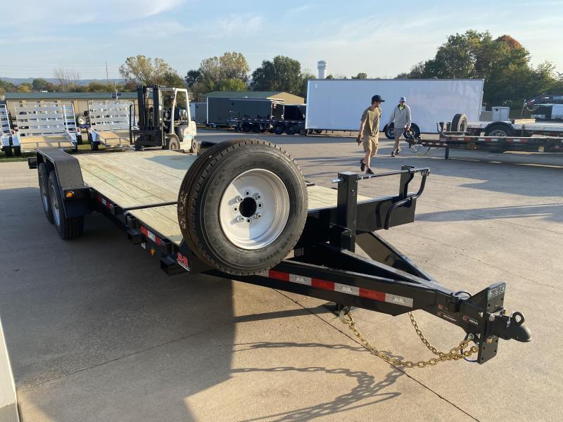 2022 B-B 83X20 Gravity Tilt Equipment Trailer