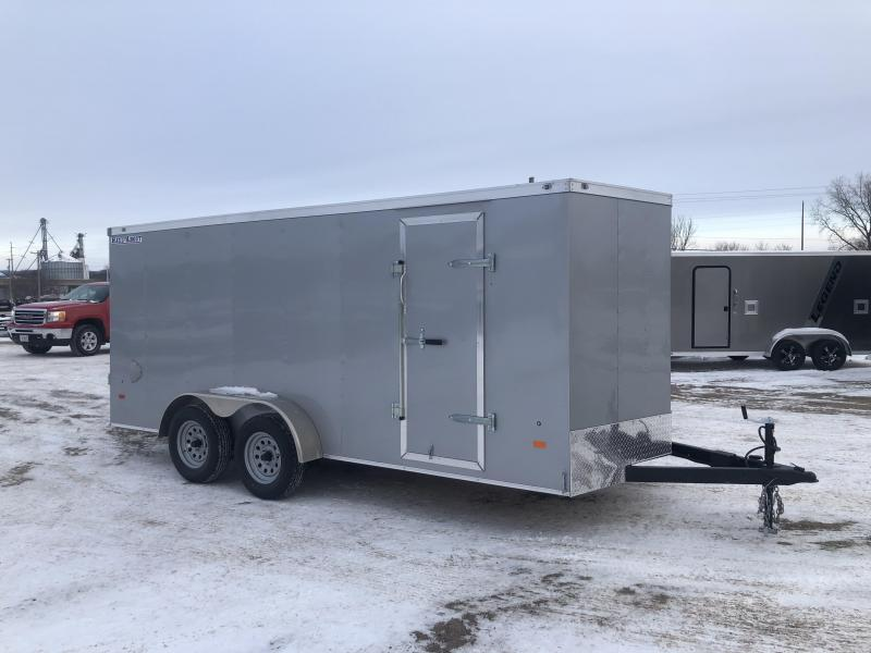 2021 Haul-About 7X16 Bobcat Enclosed Cargo Trailer