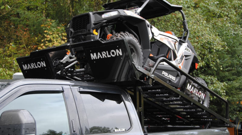 2021 Marlon Trailers UTV Rack Truck Bed