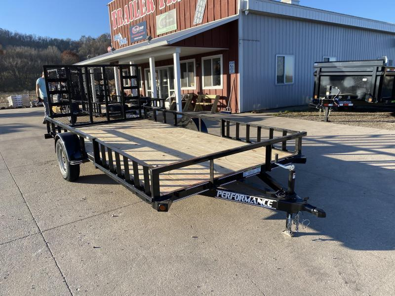 2020 Performance Trailers 83X14 Utility Trailer
