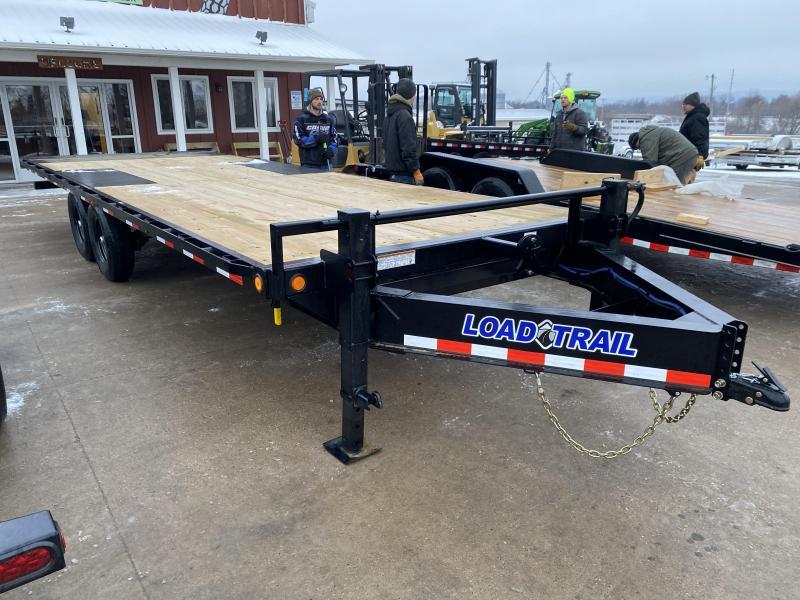 2021 Load Trail 102X24 Tilt Deck Equipment Trailer