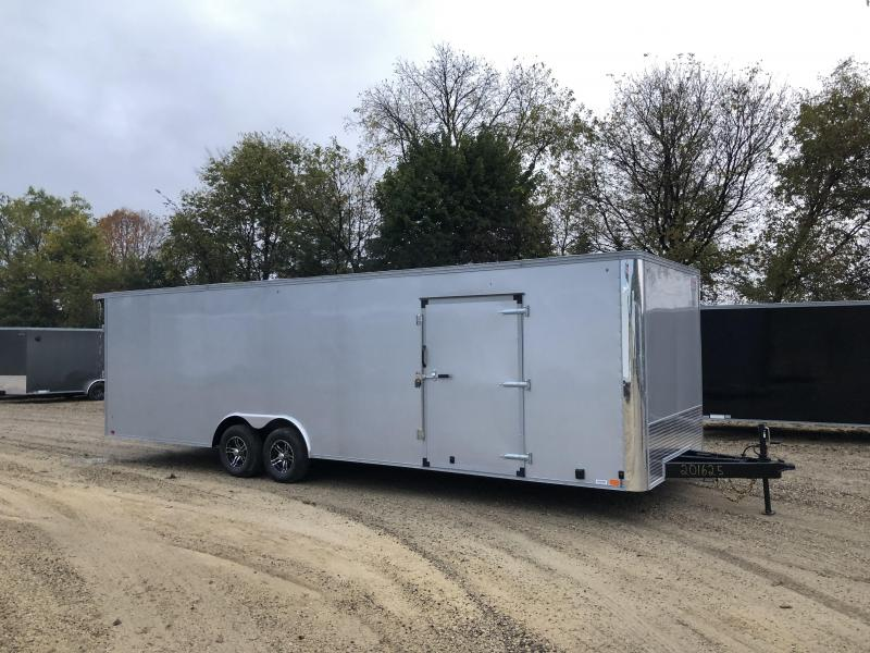2022 United Trailers 8.5X28 Race Basic Enclosed Cargo Trailer