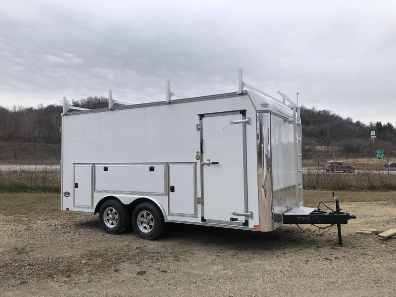 2021 United Trailers 8.5X16 Tool Crib Enclosed Cargo Trailer