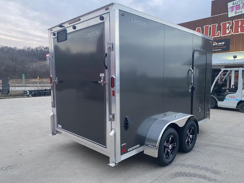 2021 Legend Trailers 7X12 FTV Aluminum Enclosed Cargo Trailer