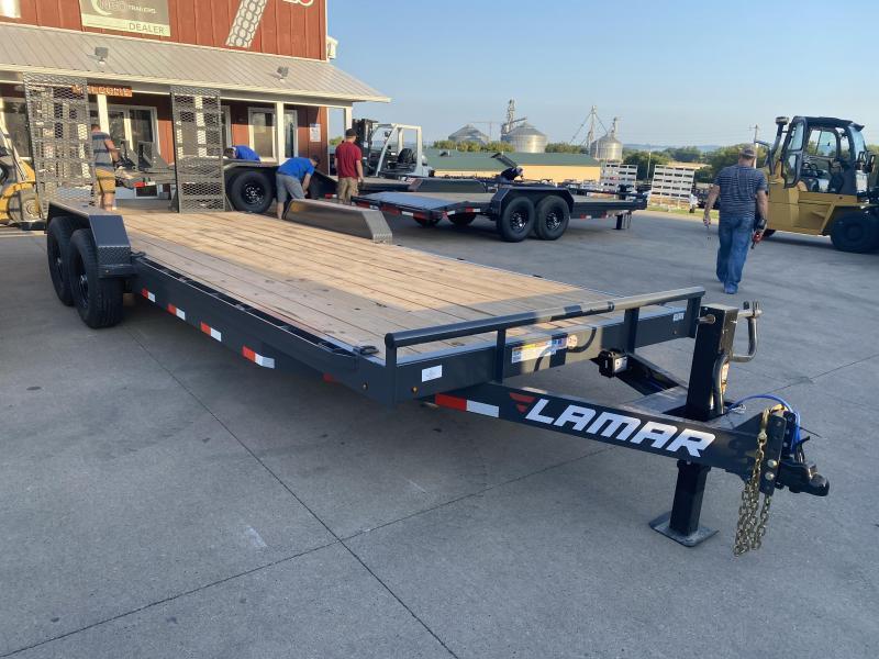 2021 Lamar Trailers 83X22 Car Hauler