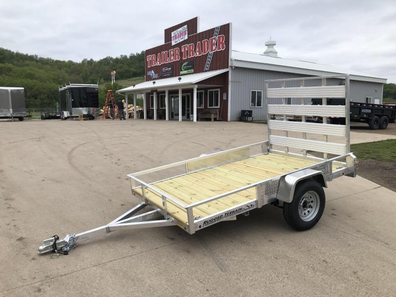 2021 Rugged Terrain 5X8 Aluminum Utility Trailer