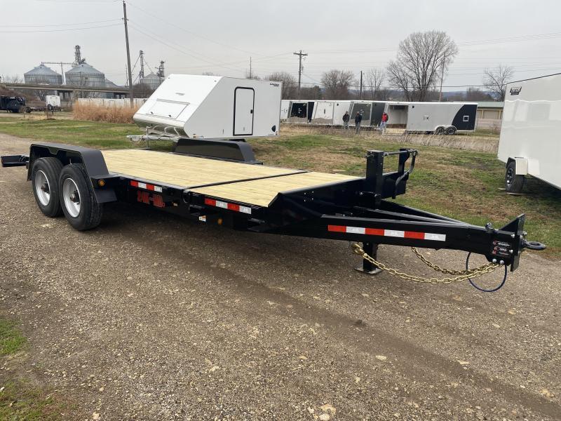 2021 B-B 83X20 Tilt Deck Equipment Trailer