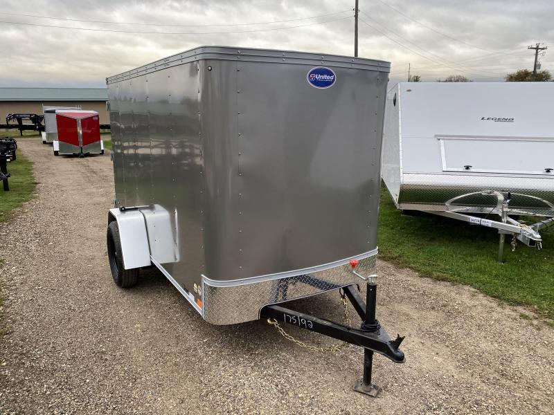 2021 United Trailers 5X10 Enclosed Cargo Trailer