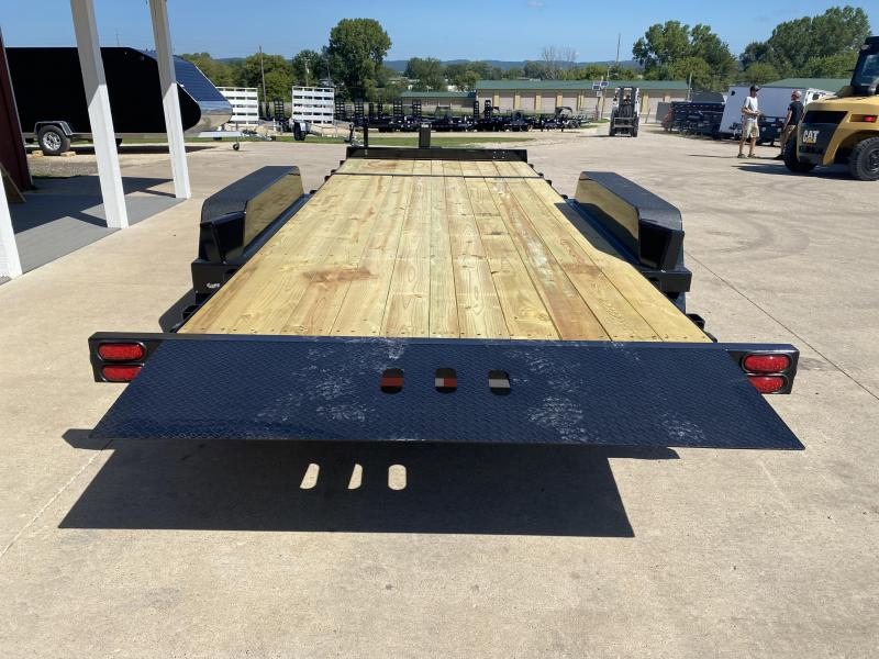 2022 B-B 83X20 Gravity Tilt Deck Equipment Trailer