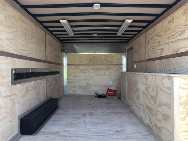 2021 United Trailers 8.5X16 Enclosed Tool Crib Cargo Trailer