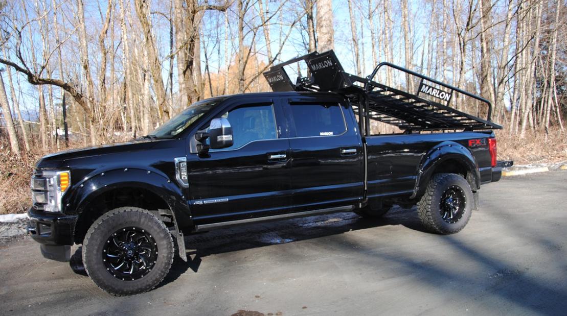 2020 Marlon Trailers UTV Rack Truck Bed