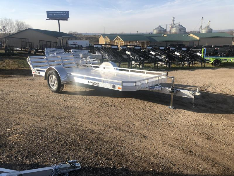 2021 Legend Trailers 79X14 Aluminum Utility Trailer