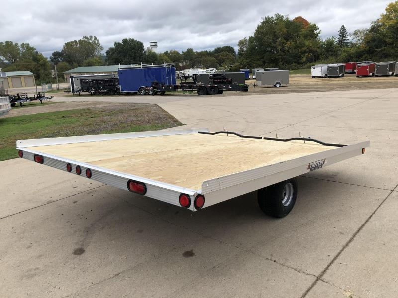 2021 Triton 101X10 2 Place Snowmobile Trailer
