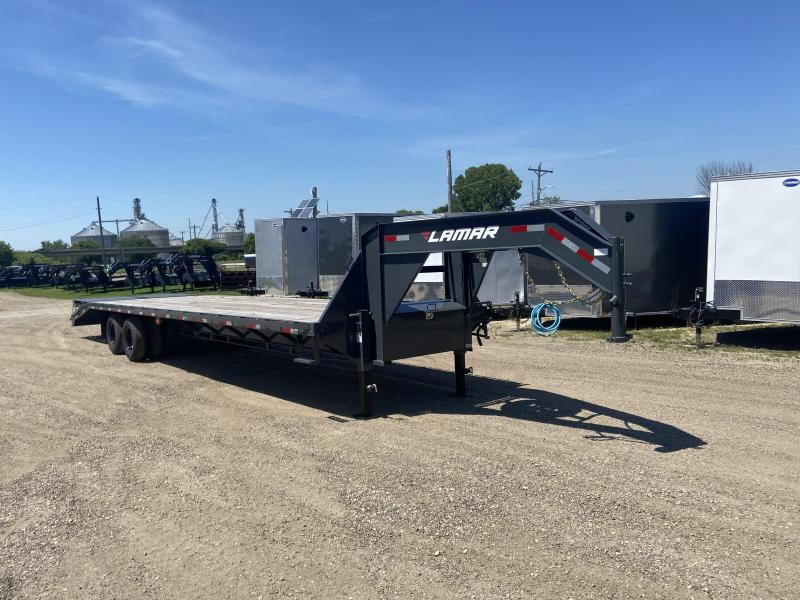 2020 Lamar Trailers 102X34 Gooseneck Deckover Equipment Trailer
