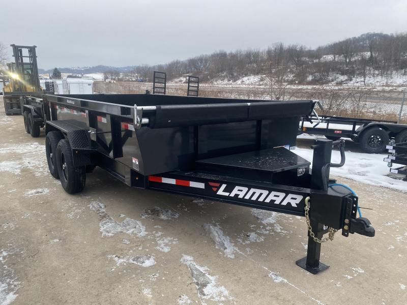 2021 Lamar Trailers 83X14 Low Pro Dump Trailer