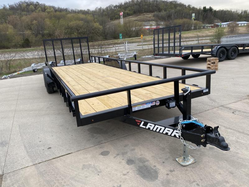 2021 Lamar Trailers 83X24 Utility Trailer