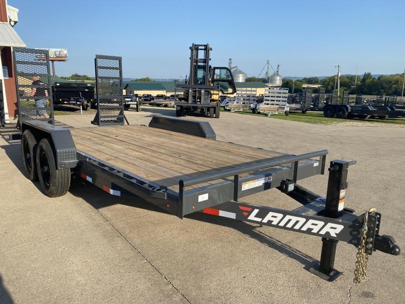 2022 Lamar Trailers 83X16 Car Hauler