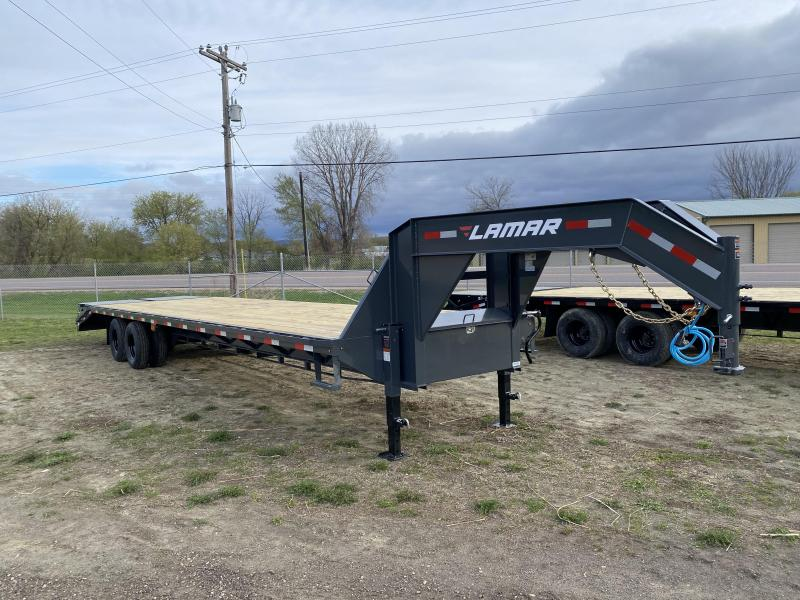 2021 Lamar Trailers 102X34 Gooseneck Deckover Equipment Trailer