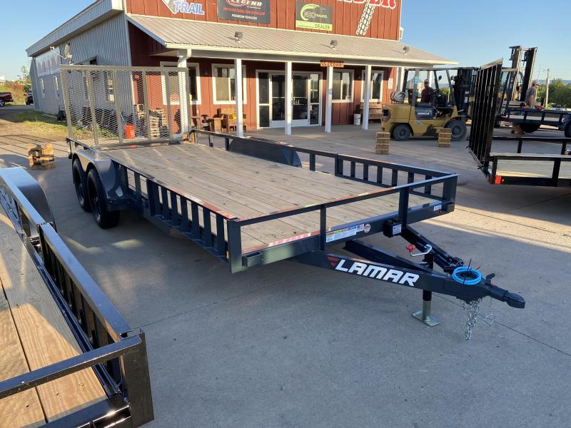 2021 Lamar Trailers 83X18 Utility Trailer