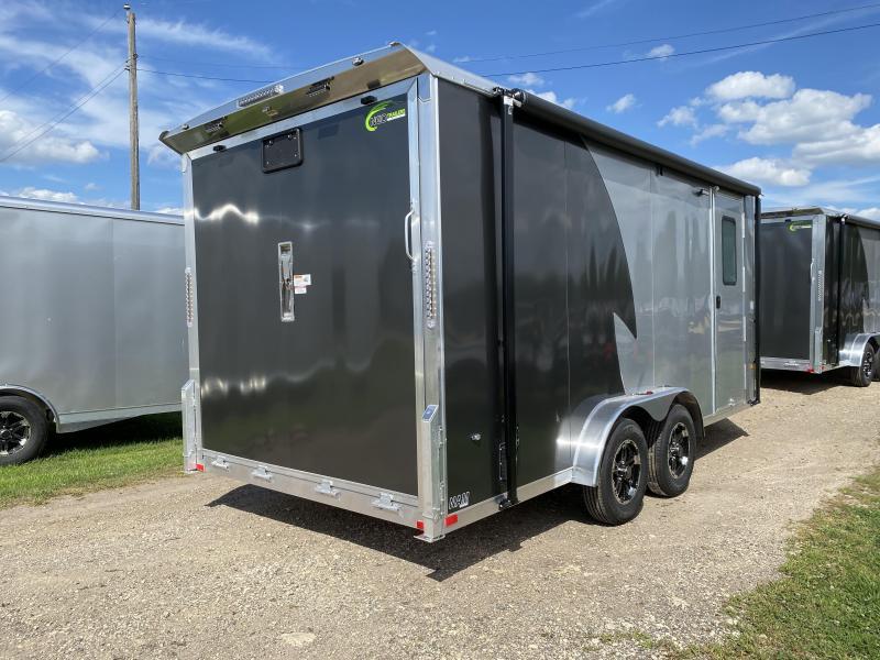 2021 NEO Trailers 7.5X16 Aluminum Enclosed Cargo Trailer