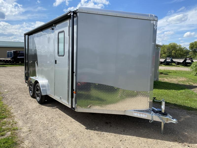 2021 NEO Trailers 7.5X16 Aluminum Enclosed Cargo Trailer