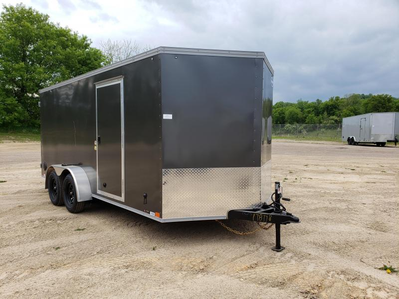 2022 United Trailers 7X16 Enclosed Cargo Trailer