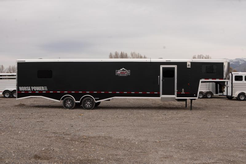 2021 Logan Coach Horsepower 31' ZBROZ Package Snowmobile Trailer