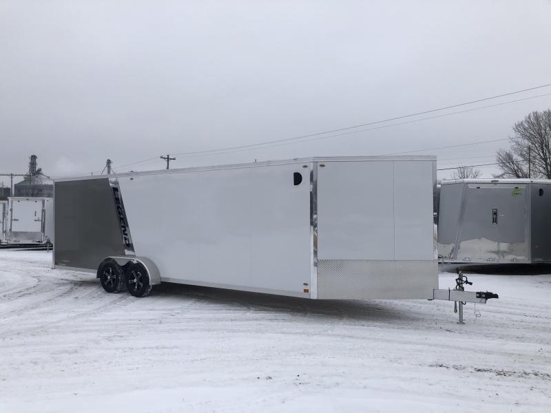 2020 Closeout Trailers 7X29 Legend Trailers Inline Snowmobile Trailer