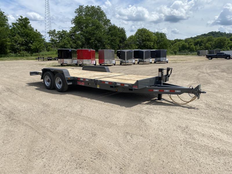 2022 B-B 83X22 Gravity Tilt Deck Equipment Trailer