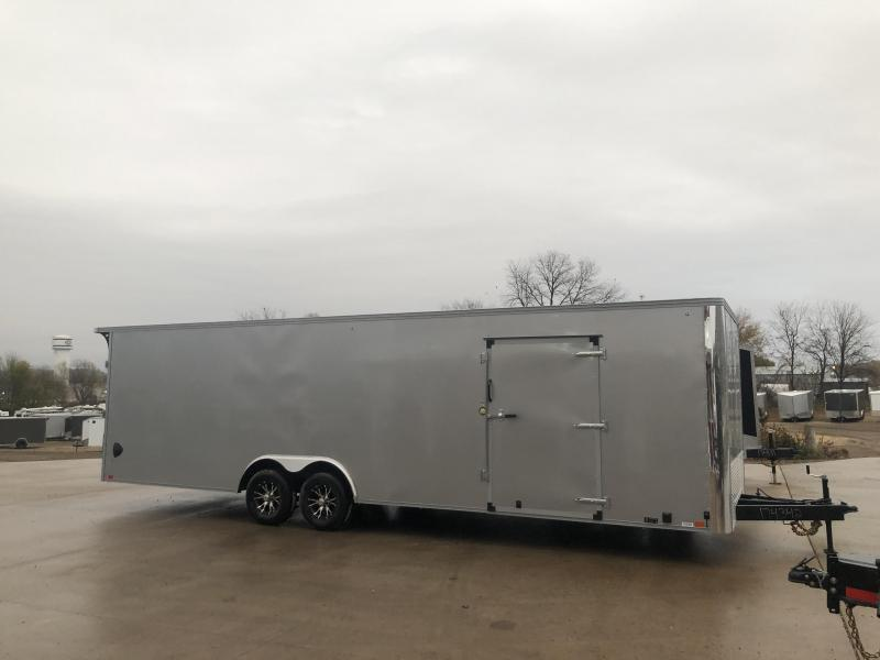 2021 United Trailers 8.5X28 Race Enclosed Cargo Trailer