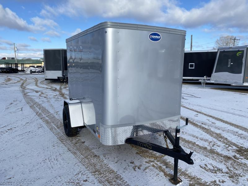 2021 United Trailers 5X8 Enclosed Cargo Trailer